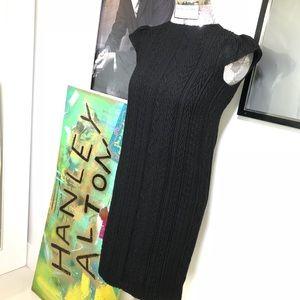 GORGEOUS BLACK CAROLINA HERRERA DRESS